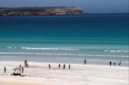 Beach Cricket Surfers Beach