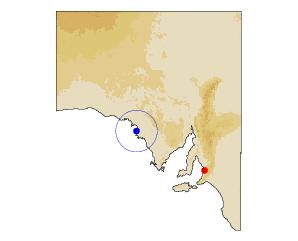 Location of Streaky Bay