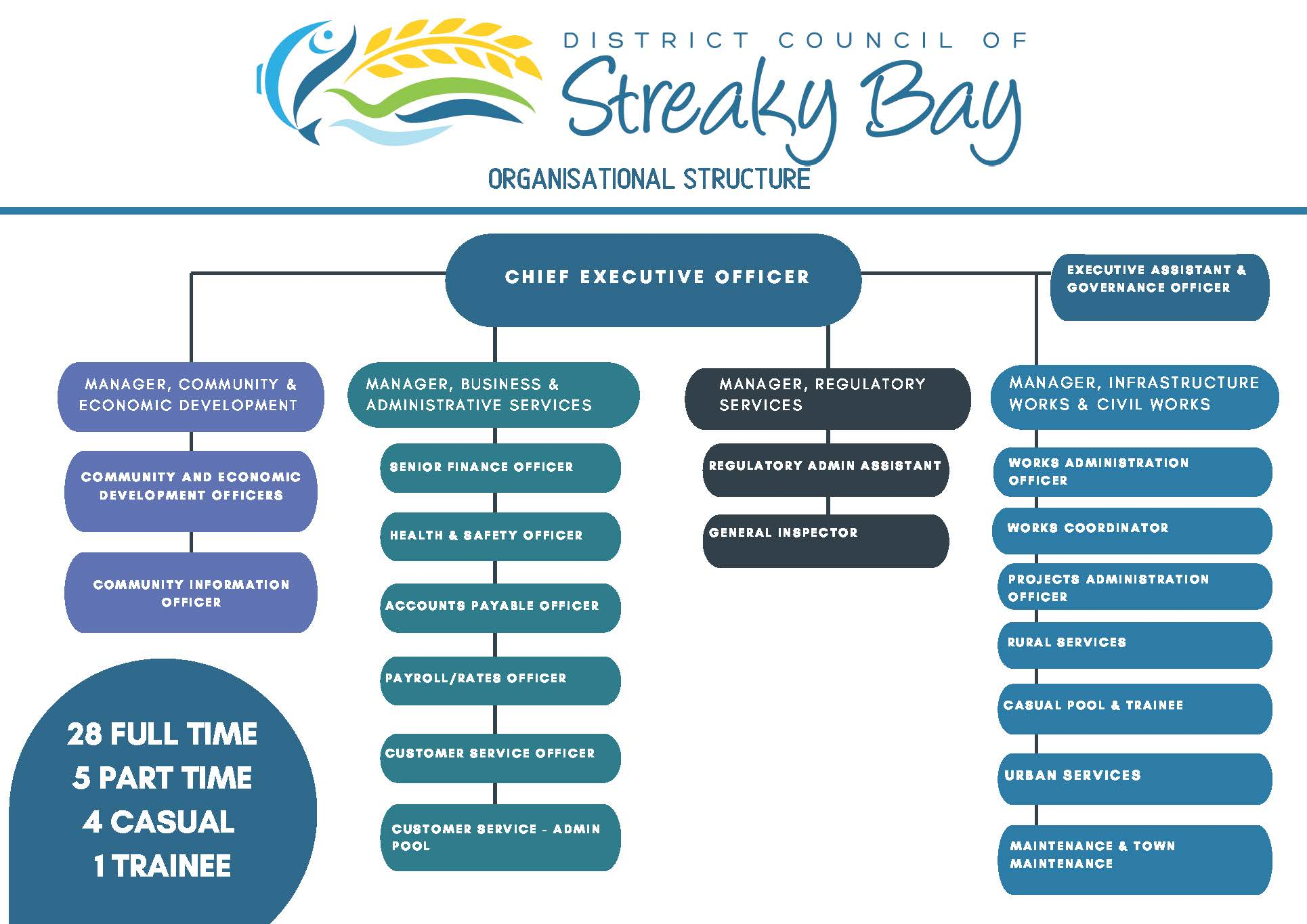 Council Employee Organisation Structure without Names  JPG